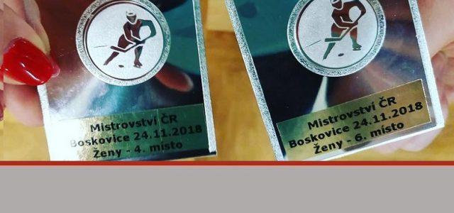 Naše ženy přivezly 4.a 6.místo zMČR